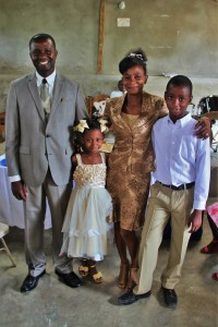 Pastor Isaac & family