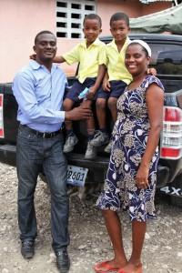 Pastor Mongerard & family